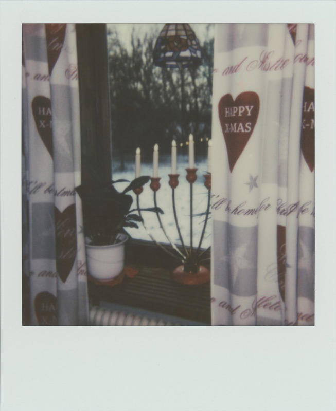 Impossible Project Color 600 Christmas shot